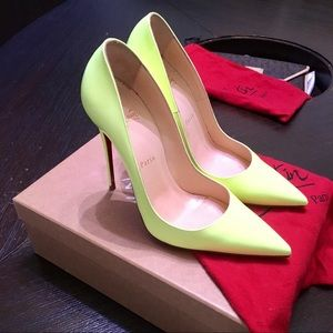 Christian Louboutin Neon So Kate Authentic Heels